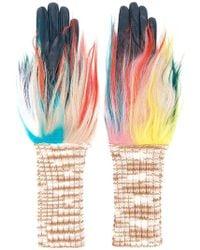 Missoni - Fur-trimmed Gloves - Lyst