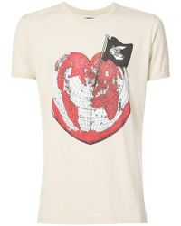 Vivienne Westwood Anglomania - Heart Globe T-shirt - Lyst