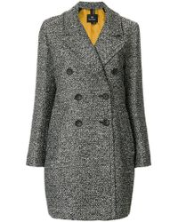 PS by Paul Smith - Double Breasted Coat - Lyst