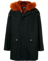 Yves Salomon - Fur Hooded Coat - Lyst