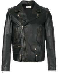Saint Laurent - Classic Biker Jacket - Lyst