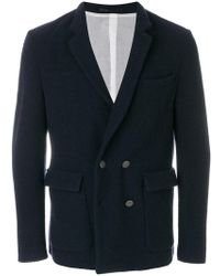 Mauro Grifoni - Double Breasted Blazer - Lyst