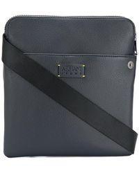 Armani Jeans - Logo Plaque Messenger Bag - Lyst 9994d704896ec
