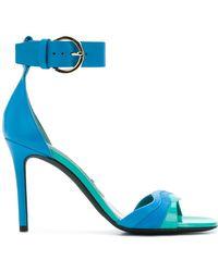 Emilio Pucci - Strappy Colour-block Sandals - Lyst