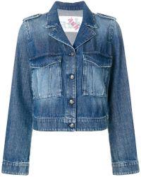 Ash - Printed Denim Jacket - Lyst