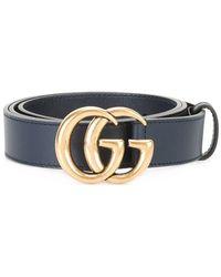 Gucci - Interlocking Gg Buckle Belt - Lyst