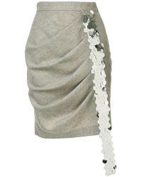 ANOUKI - Pleated Mini Skirt - Lyst
