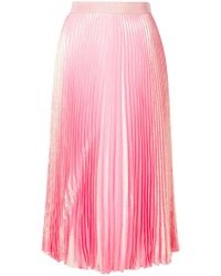 Christopher Kane - Irridescent Pleated Skirt - Lyst
