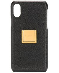 Saint Laurent Чехол Для Iphone X С Логотипом - Черный