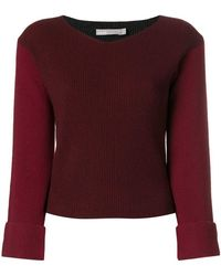 Vince - Long-sleeve Fitted Sweater - Lyst