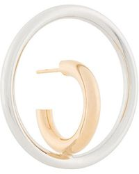 Charlotte Chesnais - Saturn Blow Large Earring - Lyst