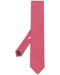 Ferragamo - Printed Tie - Lyst