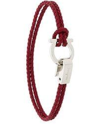 Ferragamo - Gancio Braided Bracelet - Lyst