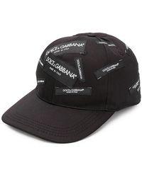Dolce & Gabbana - Cappello con logo - Lyst