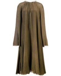 Osklen - Loose Fit Midi Dress - Lyst