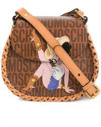 Moschino - Betty Boop Logo Shoulder Bag - Lyst