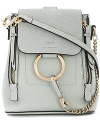 Chloé | Mini Faye Backpack | Lyst