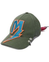 66a9e26faab DIESEL - Lightening Patch Baseball Cap - Lyst