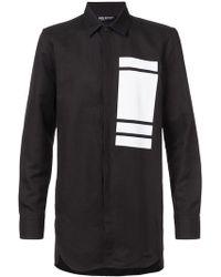 Neil Barrett - Block Print Shirt - Lyst