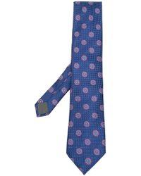 Canali - Classic Print Tie - Lyst