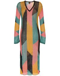 A Peace Treaty - Serreno Cotton Kaftan Dress - Lyst