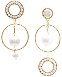 Mignonne Gavigan - Mika Mismatch Earrings - Lyst