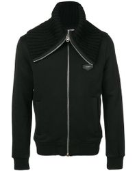 Givenchy - Fitted Zip Sweatshirt - Lyst