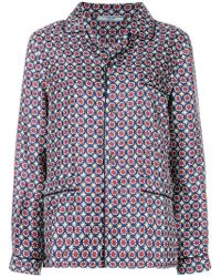 Prada - Pyjama Shirt - Lyst