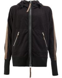 Ziggy Chen - Long Sleeved Hooded Jacket - Lyst