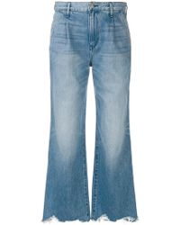 3x1 - Flared Distressed Jeans - Lyst
