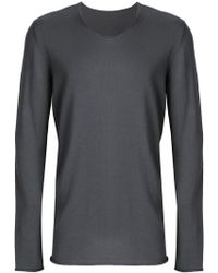 Label Under Construction - Punched Long Sleeved T-shirt - Lyst