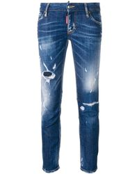 DSquared² Super Skinny Cropped Jeans