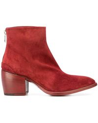 Rocco P - Pointed Ankle Boots - Lyst