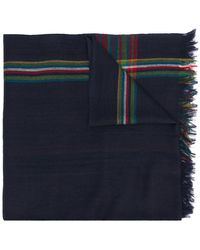 PS by Paul Smith - Check Printed Scarf - Lyst