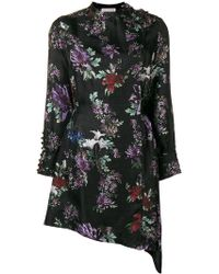Each x Other - Floral Printed Asymmetric Dress - Lyst