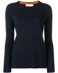 Tory Burch - Round Neck Sweater - Lyst