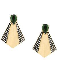 Ileana Makri - Fan Stud Earrings - Lyst