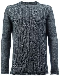 Rochas - Chunky Knit Pullover - Lyst