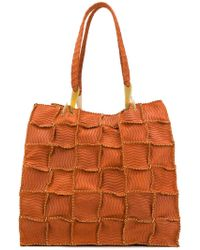 Jamin Puech - Grid Detail Shoulder Bag - Lyst