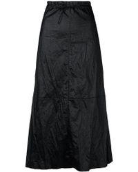 MM6 by Maison Martin Margiela - Crinkle Effect Full Skirt - Lyst