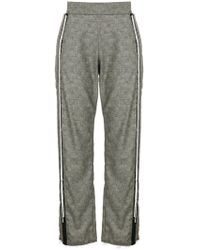 Aviu - Distressed Tailored Trousers - Lyst