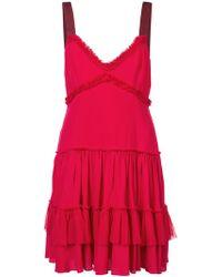 Cinq À Sept - Livia Tiered Dress - Lyst