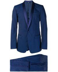 Dolce & Gabbana - Silk Trimmed Suit - Lyst