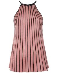 Osklen - Pleated Bicolor Top - Lyst