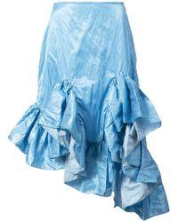 Marques'Almeida - Ruffled Hem Skirt - Lyst