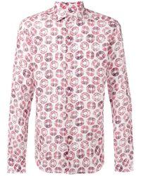 Xacus - Circle Print Shirt - Lyst