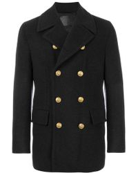 Dolce & Gabbana - Classic Double Breasted Coat - Lyst