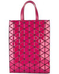 Bao Bao Issey Miyake - Brick Bi-colour Shoulder Bag - Lyst