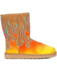 Jeremy Scott - Ugg X Classic Short Flames Boots - Lyst