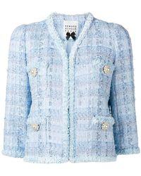 Edward Achour Paris - Short Tweed Jacket - Lyst